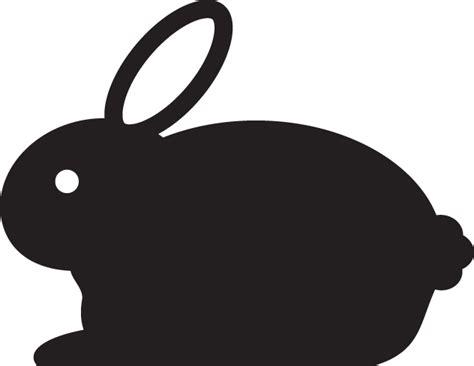 Bunny Ibon Black clipartfort holidays 187 easter 187 bunny icon