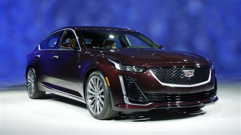 cadillac ct    sized sporty luxury sedan video roadshow