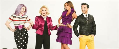 juliana fashion police fashion police to continue without joan rivers e