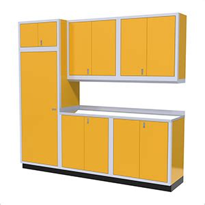 Yellow Garage Cabinets Top Of The Line Yellow Garage Cabinets