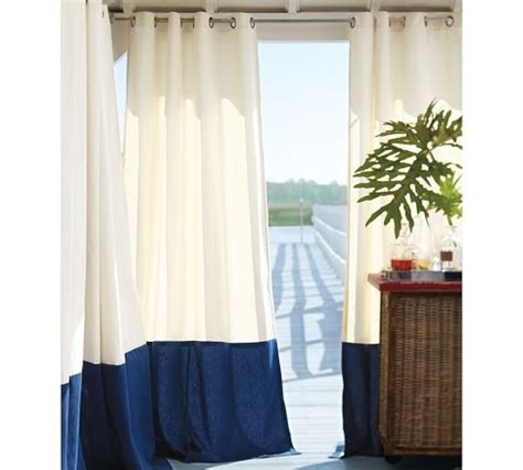 pottery barn outdoor drapes 17 best images about navy may color of the month on