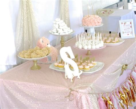 White And Gold Baby Shower Theme by Pink And Gold Baby Shower Sincerely Jean