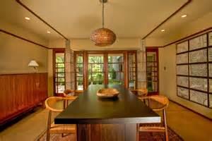 Kentuck Knob Floor Plan frank lloyd wright millard house open plan dining doors to