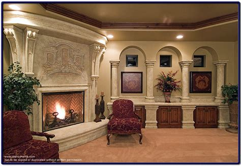 custom living room custom living room fireplace picture and information