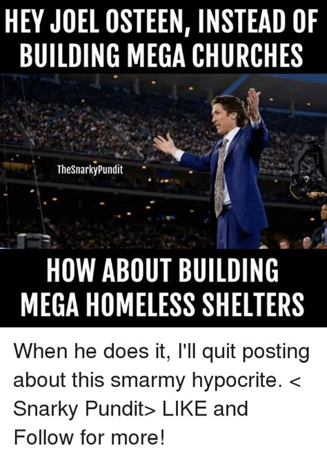 Joel Osteen Memes - 25 best memes about mega church mega church memes