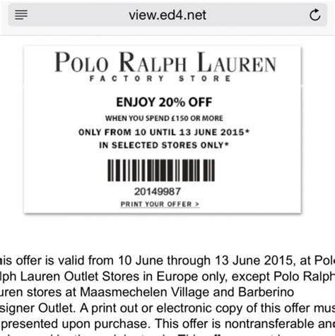 printable polo outlet coupons ralph lauren discount code get 30 off june 2017
