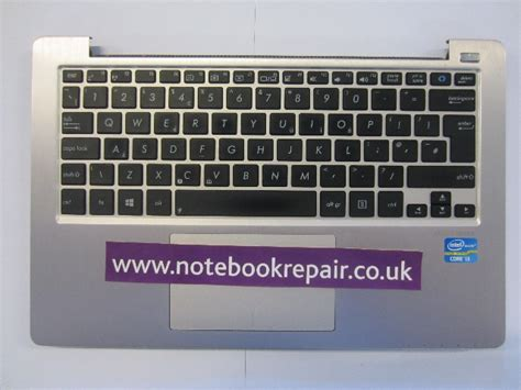 Keyboard Laptop Asus S200e asus s200e x202e palmrest keyboard touchpad 13gnfq1am071 2 notebookrepair co uk