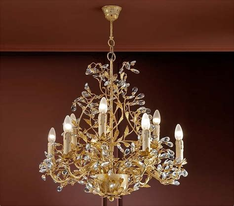 patina chandelier ivory gold patina chandelier with crystals
