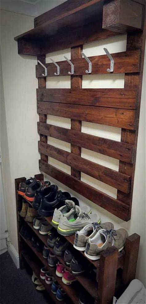 storage ideas for coats and shoes 30 creative shoe storage ideas 2017