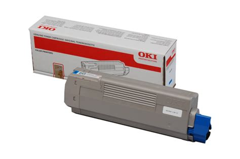 Oki Yellow Toner For C332 Mc363 Printer 1 oki c610 cyan toner 6 000 pages 44315307