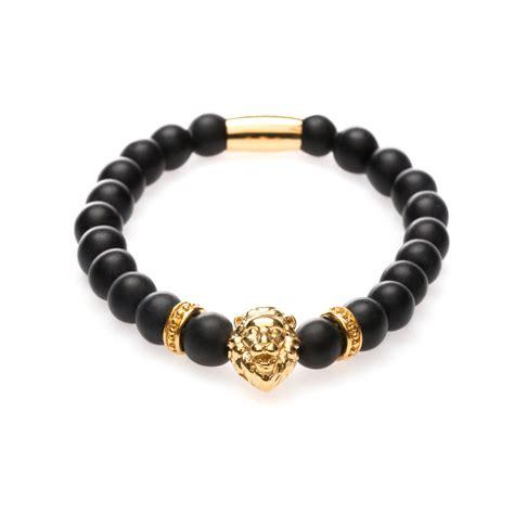 matte gold matte lion bracelet gold zorrata touch of modern