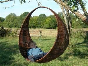 Delightful Mobilier De Jardin En Bois #14: Balancelle-tresse-en-osier-brut.jpg