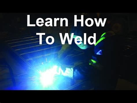 Learn To Make A No by Learn How To Weld Using A No Gas Mig Welder To Make