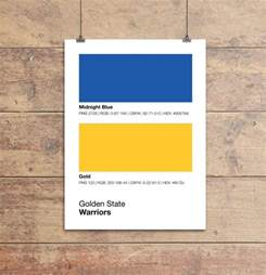 golden state colors golden state warriors colors print sproutjam
