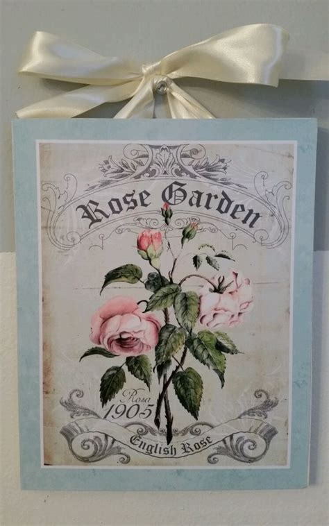 shabby country cottage chic style 1 wall