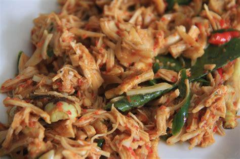 ayam suwir pedas resep masakan praktis rumahan indonesia