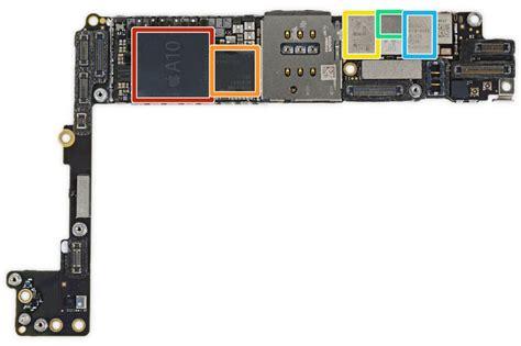ifixit teardown  iphone   reveals  larger