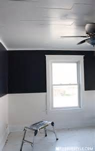 Beadboard Projects - diy shiplap bedroom ceiling robb restyle