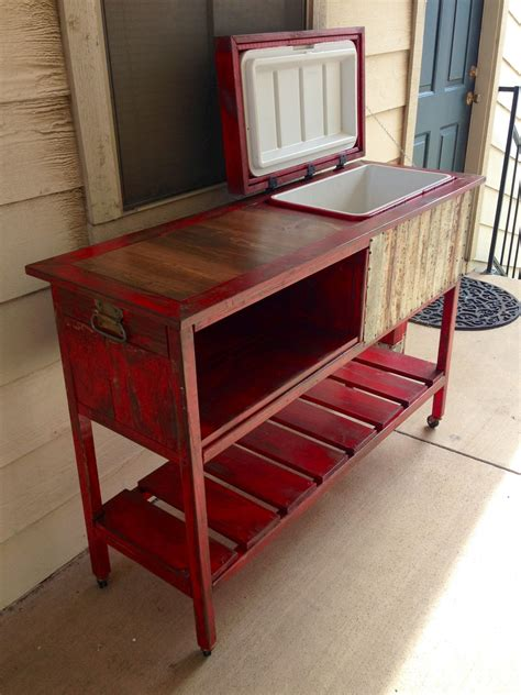 cooler bench wooden bench with cooler plans cooler box 3 kreg jig
