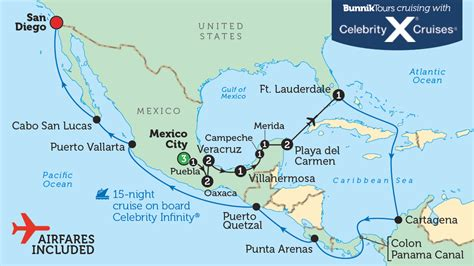 map of south america including mexico america canal city information panama panama south