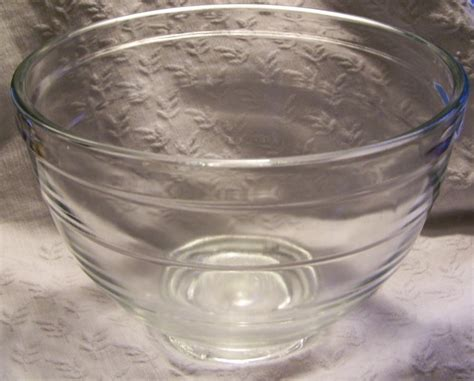 Vintage Kitchen Aid Mixer 4C Large Glass Mixing Bowl