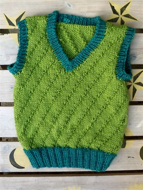 baby boy knitted vest 12 free knitting patterns for babies growingslower