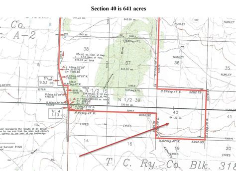 how many acres in a mile section 640 acres larger east rim rancheast rim ranch