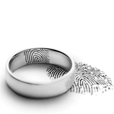 Eheringe Mit Fingerabdruck by 220 Ber 1 000 Ideen Zu Fingerabdruck Ring Auf
