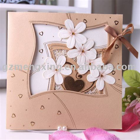 Handmade Invitation Cards Ideas - wedding card decorations decoration