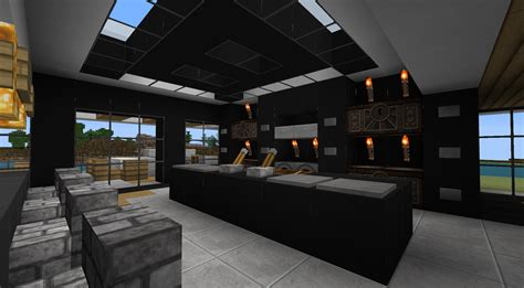 minecraft interior design kitchen minecraft interior design
