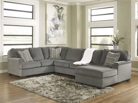 Ashley Furniture Dining Room Sets Prices by Loric 12700 Smoke Grey Sectional Sofa Living Spaces Ashley