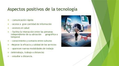 Imagenes Positivas De La Tecnologia | impacto de la tecnolog 237 a en la sociedad