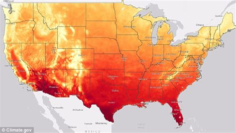 us map post global warming interactive climate explorer map lets you see how global