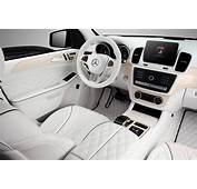 Mercedes Benz GLE Guard  White Interior / TopCar