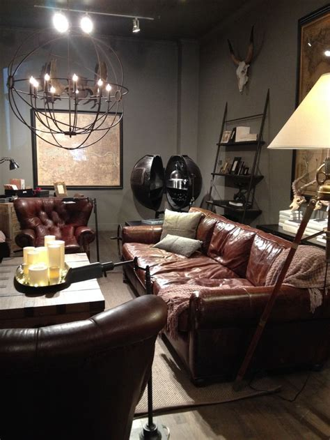 restoration hardware brown leather couch best 25 brown leather sofas ideas on pinterest