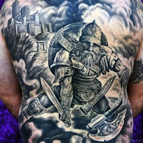 tattoo pictures of viking warriors 59 alluring viking tattoos for back