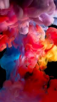 smoke color colored smoke paint iphone 5s wallpaper