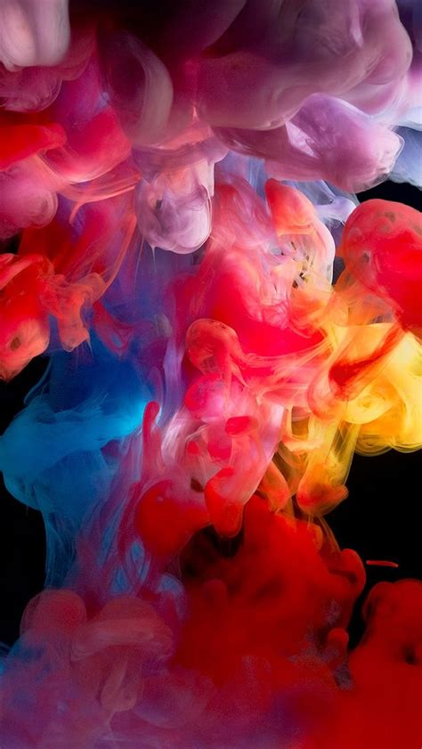colored smoke paint iphone 5s wallpaper wallpapers iphone wallpapers one stop