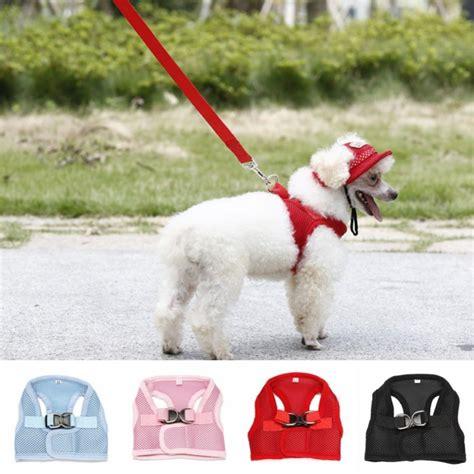 comfort vest for dogs homedeco dog comfort vest harness leash mesh breathable