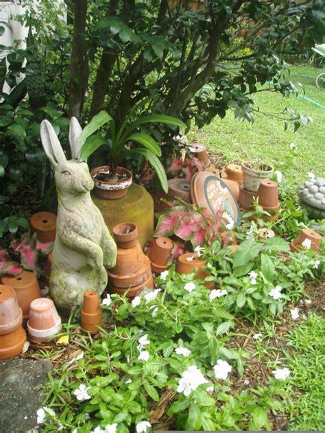 Garden Rabbits Decor Top 25 Best Cottage Gardens Ideas On Pinterest