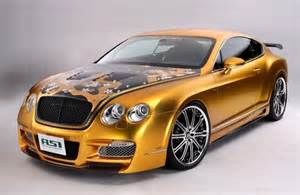 Gold Plated Bentley Gold Plated Bentley W66 Gts Car Costs 800 000 Car Values