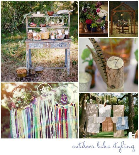 Create & Style A Bohemian Wedding: Wedding Advice   Want