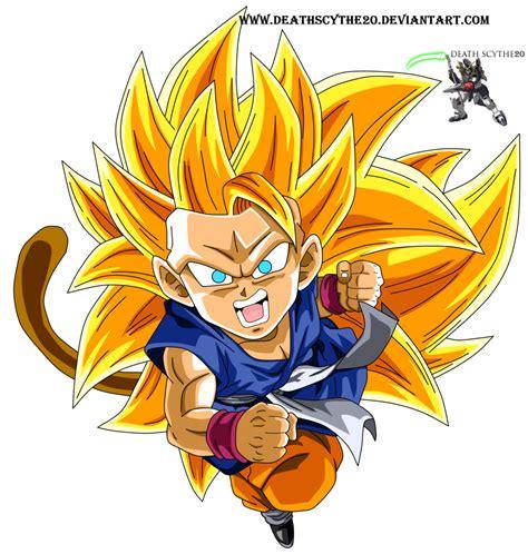 imagenes de goku gt ssj3 kid goku ssj3 dragon ball gt by deathscythe20 on deviantart