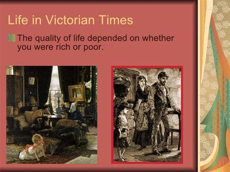 victorian time the victorian period