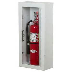larsen gemini series surface mounted extinguisher cabinet