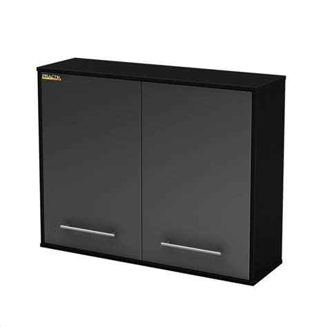 Wall Cabinet Storage by South Shore Karbon Base Wall Cabinets Black