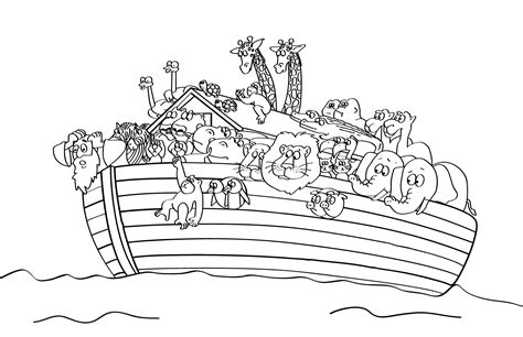 Noah S Ark Coloring Page Printable free printable sunday school coloring pages
