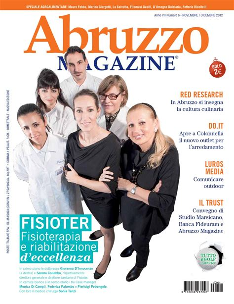 fideuram pescara abruzzo magazine novembre dicembre 2012 by abruzzo