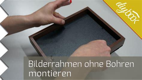 Bilderrahmen Befestigung Wand by Bilderrahmen Ohne Bohren Aufh 228 Ngen