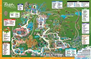 busch gardens map florida busch gardens 174 ta offers discounts cheap tickets